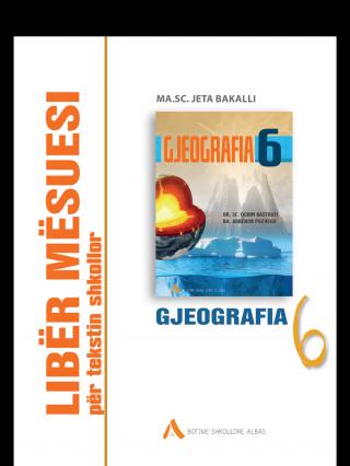 Libër mësuesi për tekstin shkollor Gjeografi 6 (Kosovë)